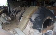 Michael Martino's Kiln at Kuratsu Pottery
