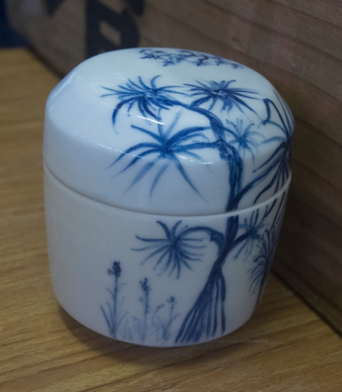 Gosu painting on Arita porcelain