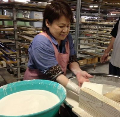 Glazing in the factory